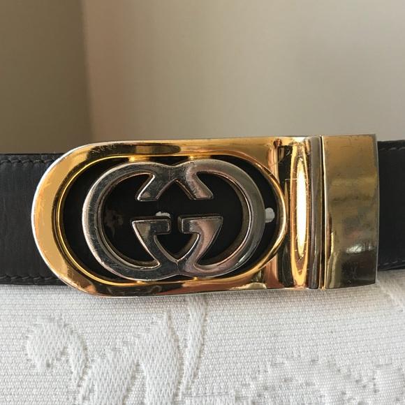 551a81a030ef Gucci Accessories | Vintage Gg Belt Reversible Black Brown | Poshmark